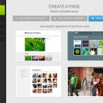 ホームページとは別にカッコよいサイトを作る方法